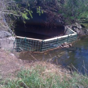 Culvert Protective Fence High Flow