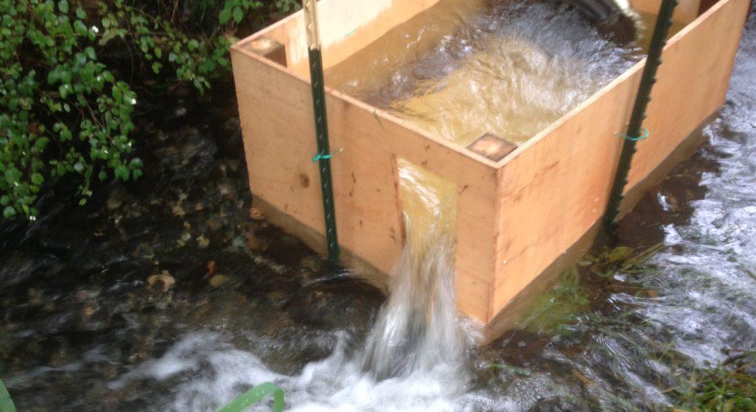 Snohomish Pond Leveler Fishway